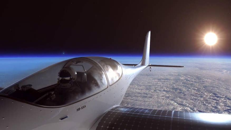 SolarStratos releases animation of project aiming to become first solar craft to reach Earth's stratosphere
