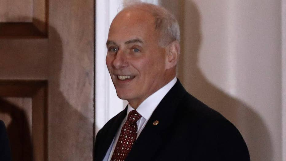 Trump taps General Kelly for DHS secretary