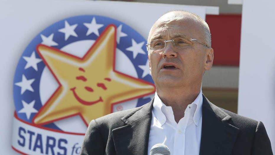 Trump chooses fast food executive for his Cabinet