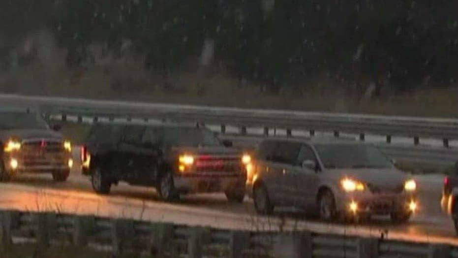 Snow storms make traveling dangerous in Midwestern states