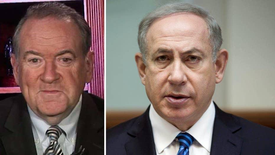 Huckabee: Israel celebrating end of 'hostile' Obama regime