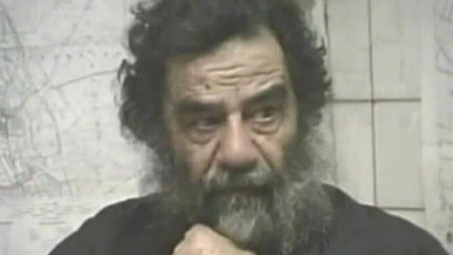 Saddam reportedly whined about treatment during capture