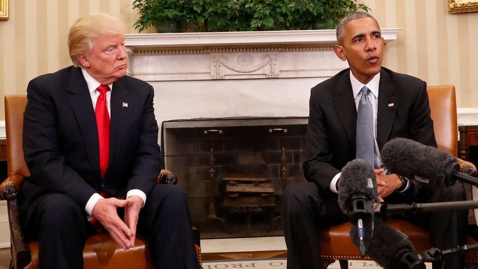 Trump denies he'll take a 'wrecking ball' to Obama's legacy