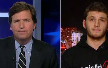 'Tucker Carlson Tonight' host takes on member of Socialist Students Organizing Committee on their plans to stage walkouts on the day of Trump's inauguration #Tucker