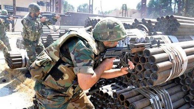 Syrian forces close to closing in on Aleppo