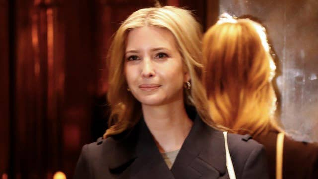 Will Ivanka serve as the ambassador to the left?