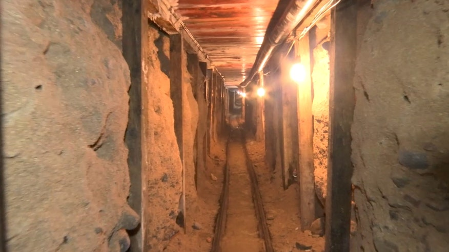 Raw video: Footage shows two tunnels that were discovered in the border city of Tijuana that lead into California. One of the tunnels reached to San Diego, California, and the other was unfinished, officials said. They were apparently used by the Sinaloa drug cartel to move drugs into the U.S.