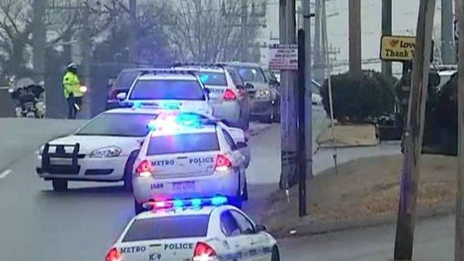 Police officer shot serving warrant in Nashville, Tennessee