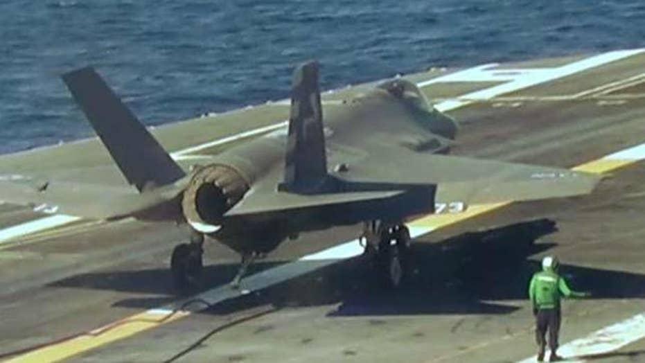 Trump slams cost of Lockheed Martin's F-35 program