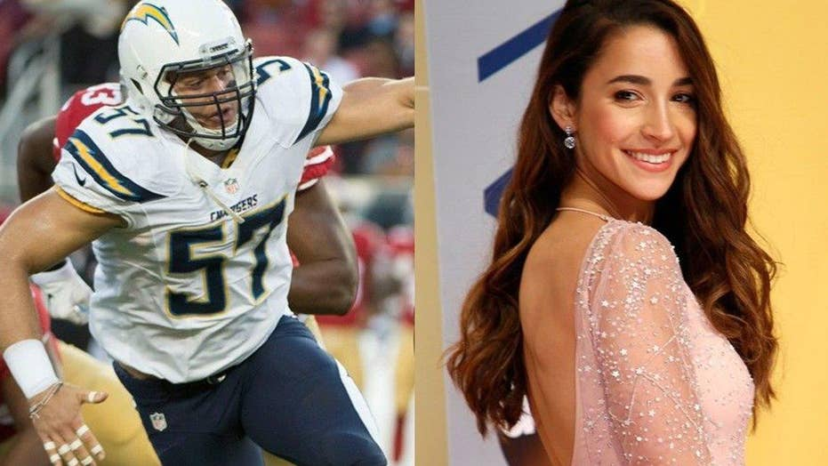 Aly Raisman reveals she's dating Colton Underwood