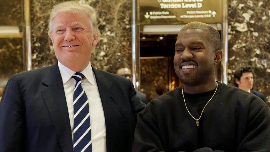 Kanye West visits Donald Trump