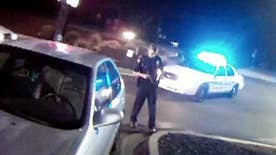 Suspect opened fire during traffic stop