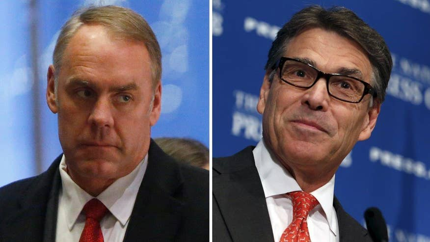 President-elect taps Rick Perry to lead the Department of Energy, Ryan Zinke as secretary of the Interior; reaction from RealClearPolitics' A.B. Stoddard and The Washington Examiner's Susan Crabtree