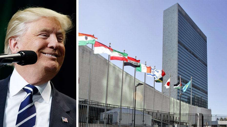 Eric Shawn reports: Trump vs. the UN