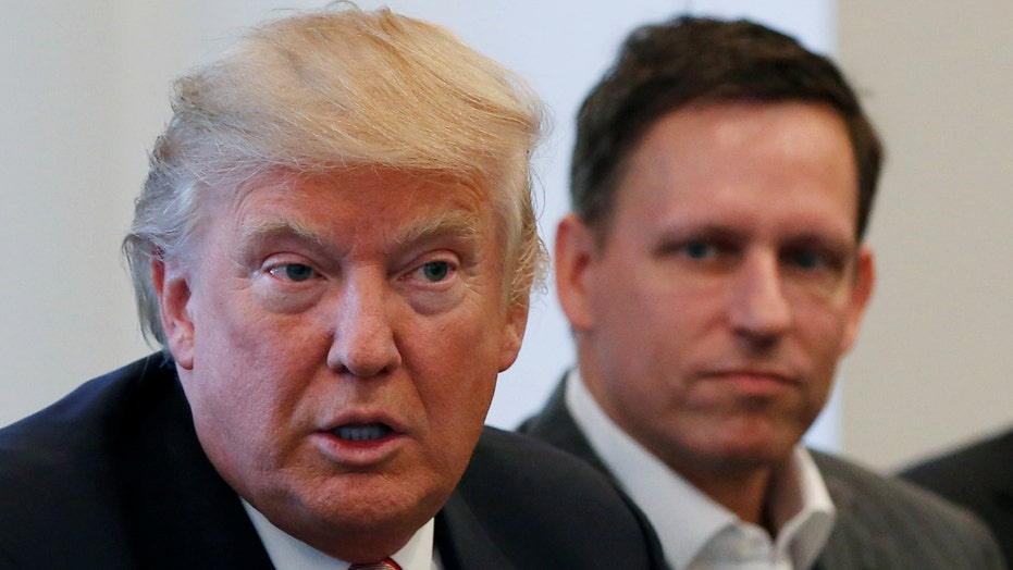 Trump: I'm here to help tech companies do well