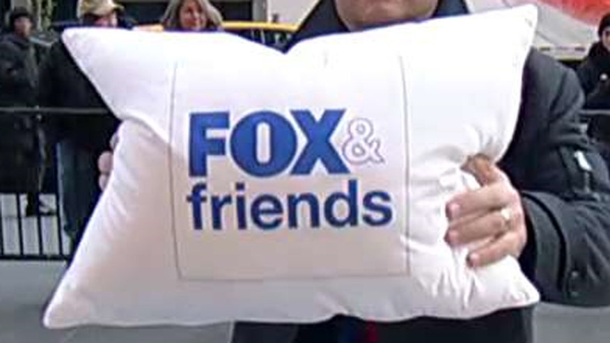 'Fox & Friends' hosts try out the pillow