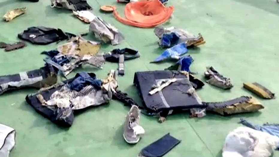 Traces of explosives found on remains of EgyptAir victims