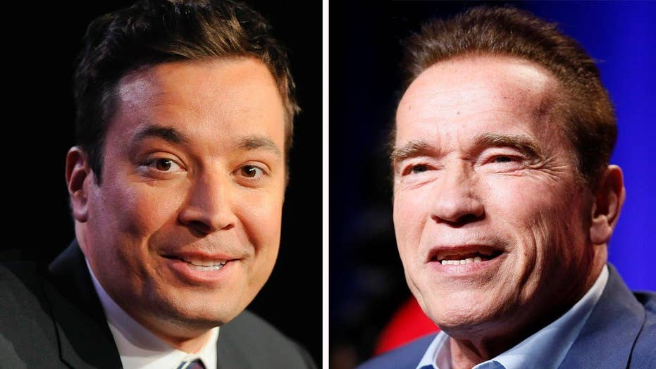 Jimmy Fallon grills Schwarzenegger on 'Celebrity Apprentice'