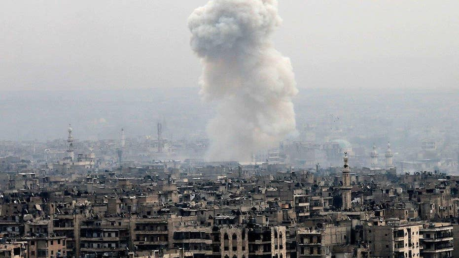 Rebel fighters surrender Aleppo, Syria to government forces
