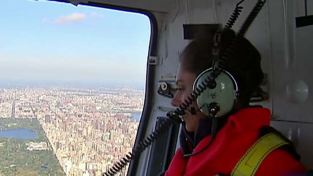 Abby Huntsman overcomes her fear of heights