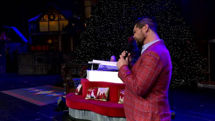 "FOX News Radio presents Jason Crabb performing ""Mary Did You Know"" at the Todd Starnes Christmas Show. Sponsored by Brim's Snack Foods and The Case for Christ Movie"