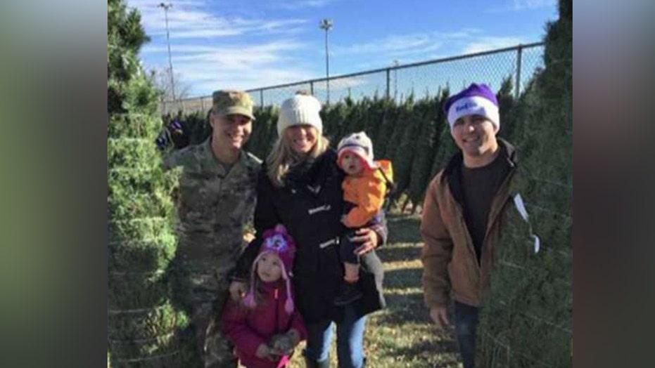 FedEx ships 18,000 Christmas trees to military families