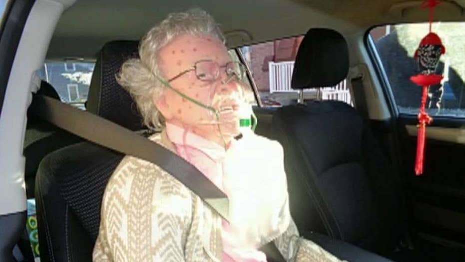 Police break into car to save life-like doll