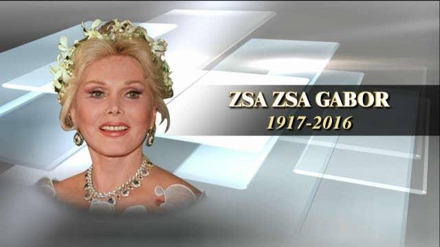 Zsa Zsa Gabor dies at age 99