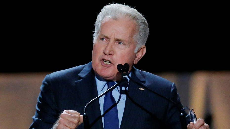 Martin Sheen goofs on elector pitch