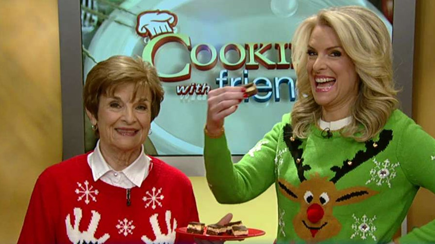 Fox News senior meteorologist and her mom make a sweet treat