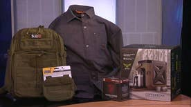 Tech Take: Fox Firepower columnist Allison Barrie showcases the Center Drive Multi-Tool by Gerber, Yeti Hopper Flip 12 and the Walls Workwear Jack-Shirt with Kevlar