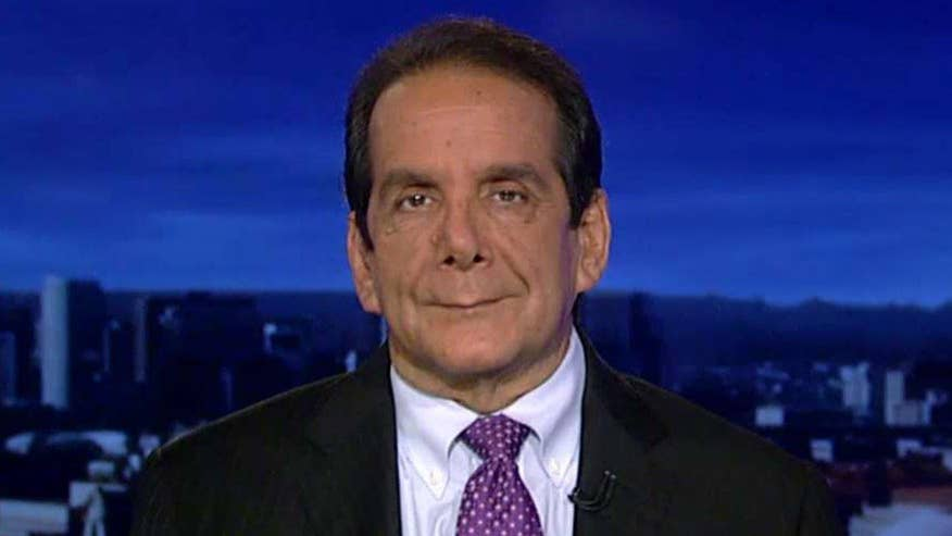 Krauthammer reacted to Trump tweeting about strengthening our Nuclear arsenal
