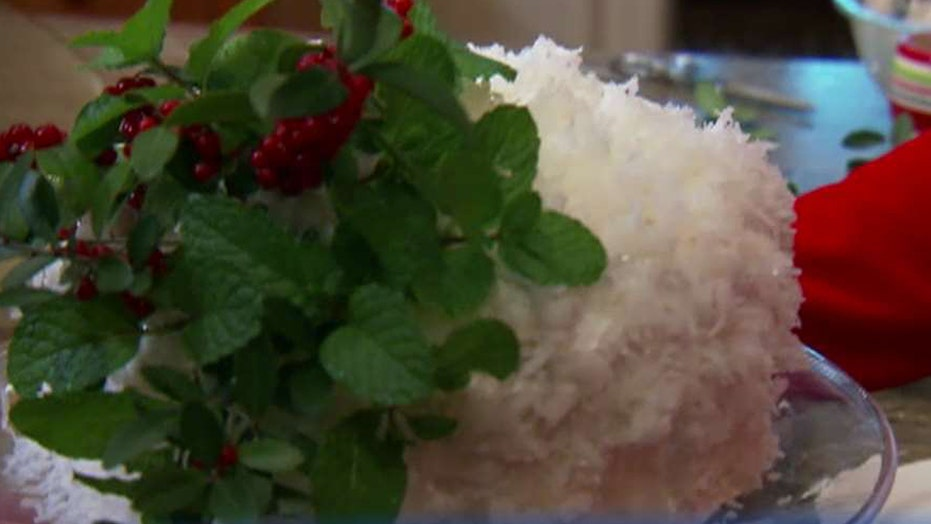 Cooking with 'Friends': Paul Deen's coconut Christmas cake