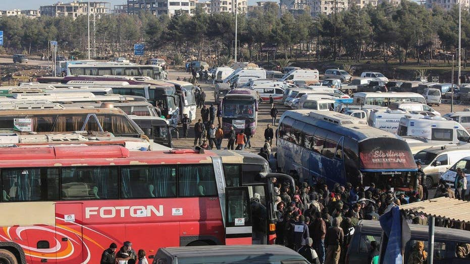 Aleppo evacuations enter final stage
