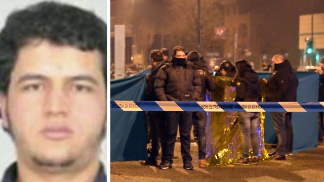 Berlin terror suspect killed in shootout in Italy