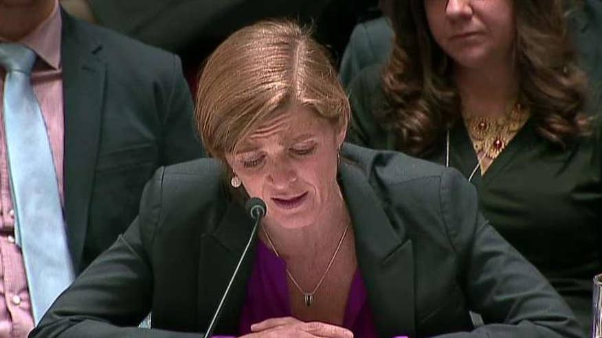 Ambassador Samantha Power speaks out