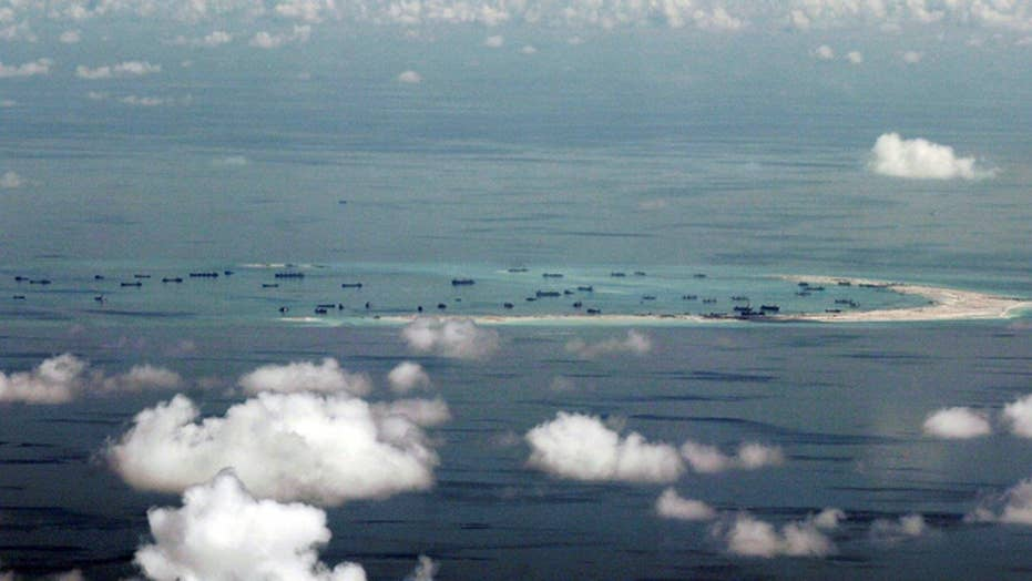 US officials: China sending weapons to Spratly Islands