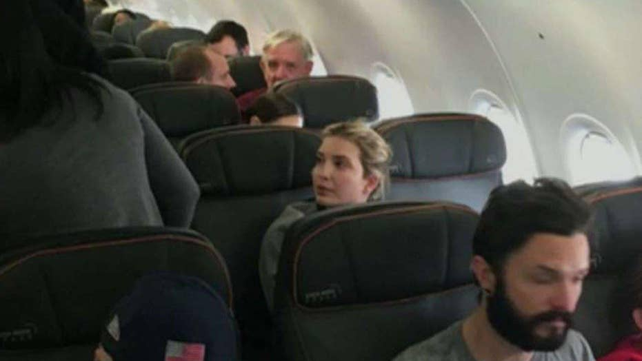 Liberal reaction to Ivanka Trump flight incident