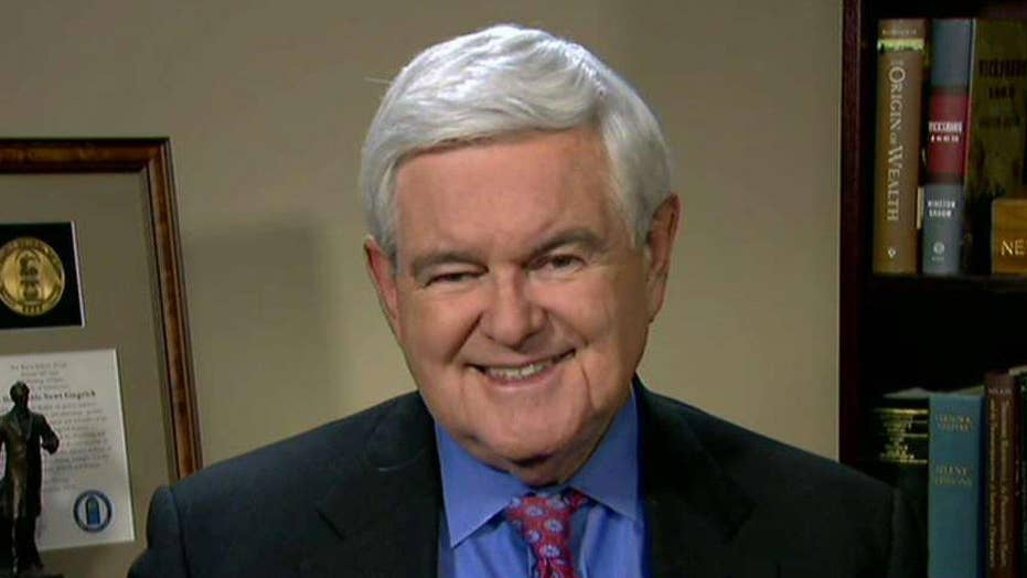 Gingrich shares advice for Trump's inauguration, agenda