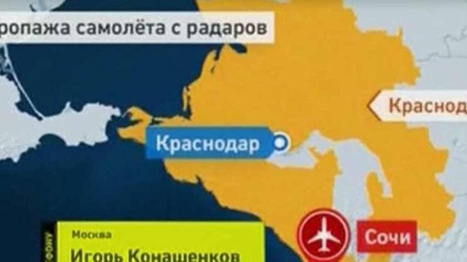Russian military plane crashes into Black Sea