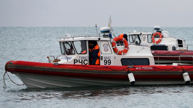 Russian divers find jet fragments in the Black Sea