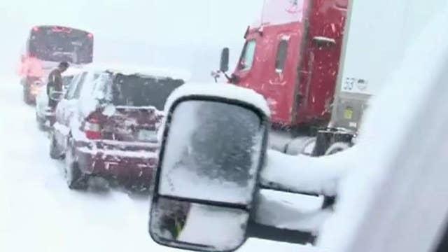 Powerful winter storm hammers Arizona