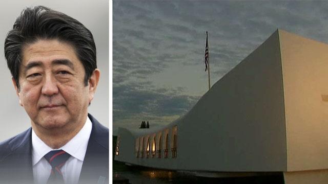 Japan's Prime Minster to visit Pearl Harbor memorial