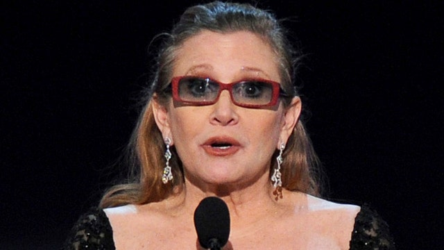 Reports: Carrie Fisher dies