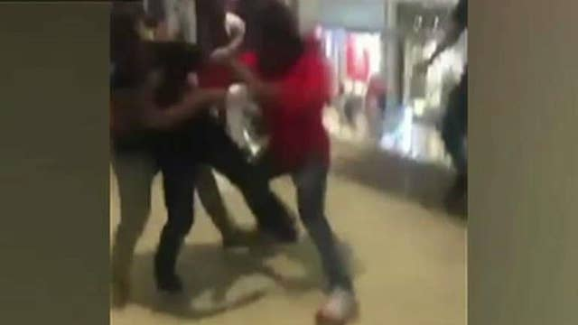 Police: Mall brawl appears to have been organized online