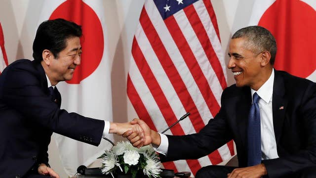 Obama, Abe meet amid concerns about Trump-Japan relations