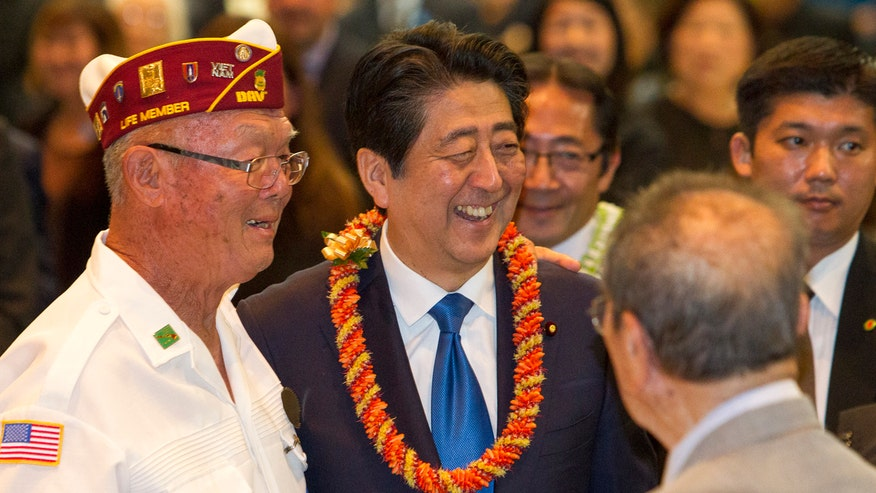 Shinzo Abe to visit USS Arizona Memorial with President Obama