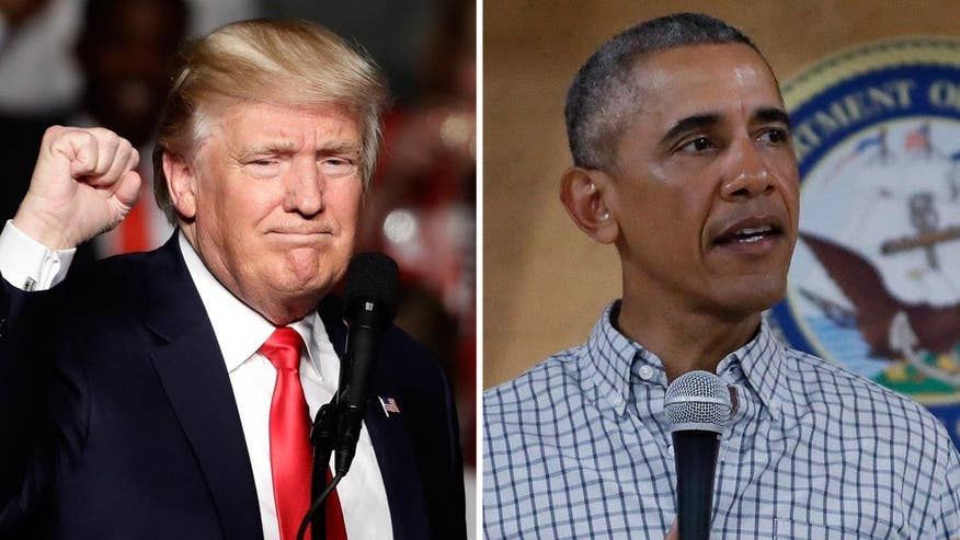 Could Obama beat Trump in the 2016 election? 'The Factor' debates.