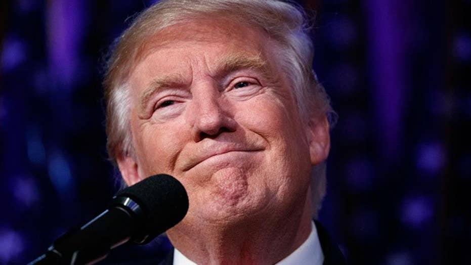Trump: The world was gloomy before I won
