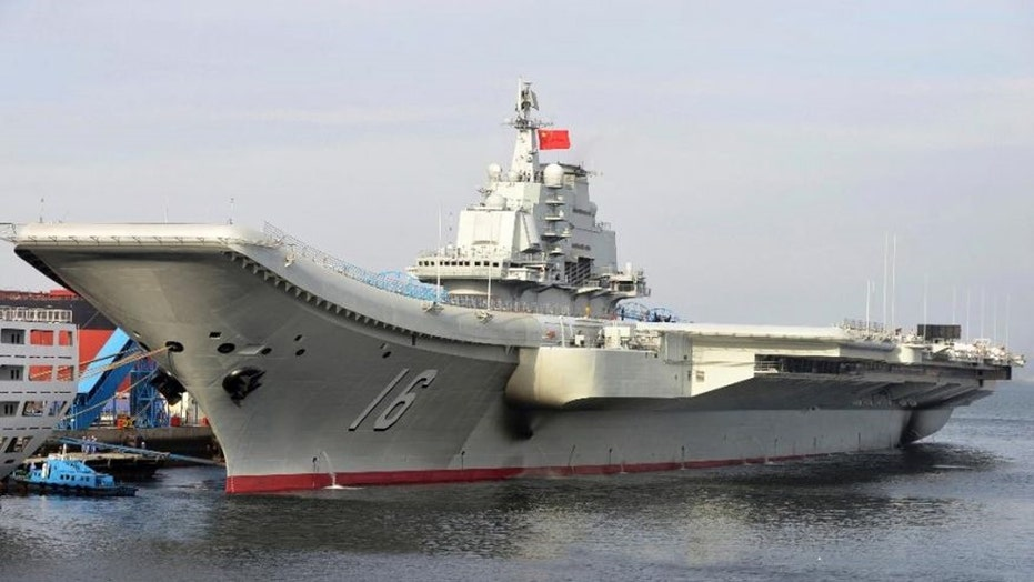 Chinese aircraft carrier enters South China Sea